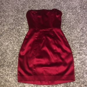 bebe Dresses - bebe red mini dress